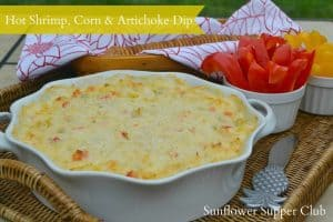 Hot Shrimp, Corn, and Artichoke Dip (And Freezing Fresh Corn for the ...