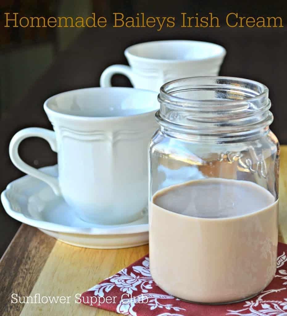 Homemade Baileys Irish Cream – Sunflower Supper Club